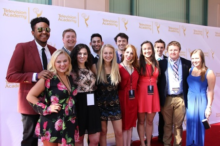 Summer 2016 class on the red carpet at the LA Area Emmy Awards.